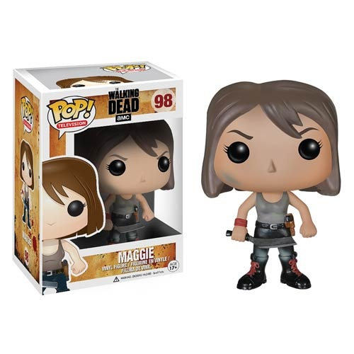 Carl Maggie And More Join Walking Dead Pop Vinyl Line