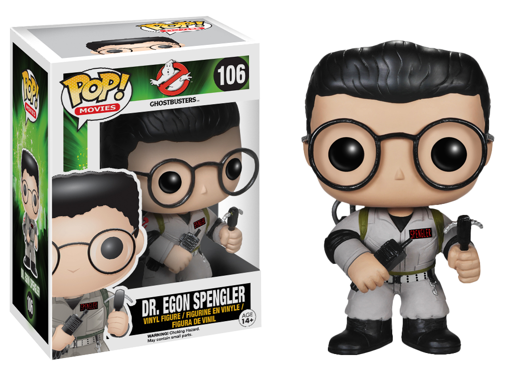 Ghostbusters Egon Spengler Pop Vinyl