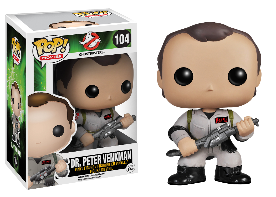 Ghostbusters Peter Venkman Pop Vinyl