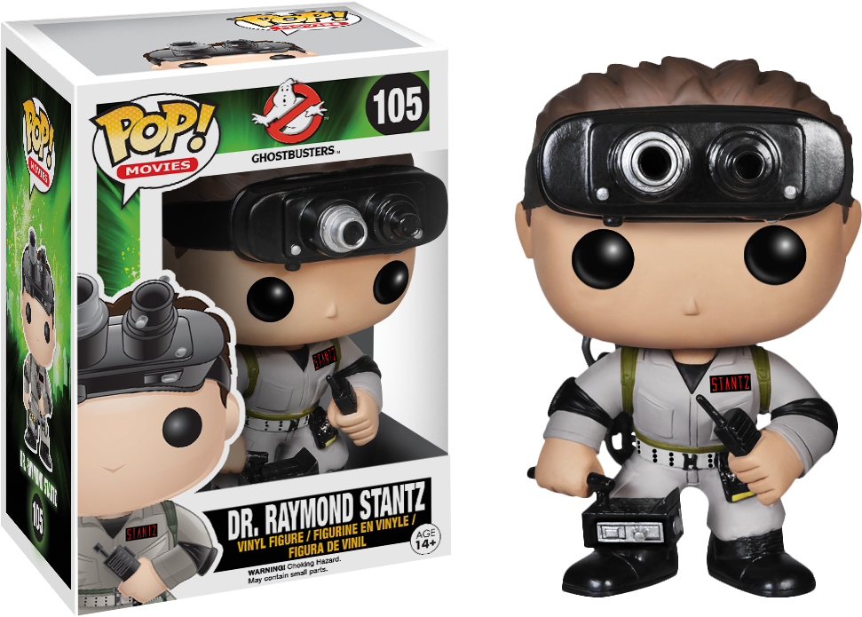 Ghostbusters Ray Stantz Pop Vinyl