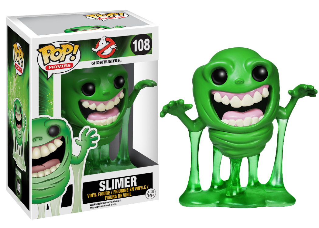 Ghostbusters Slimer Pop Vinyl