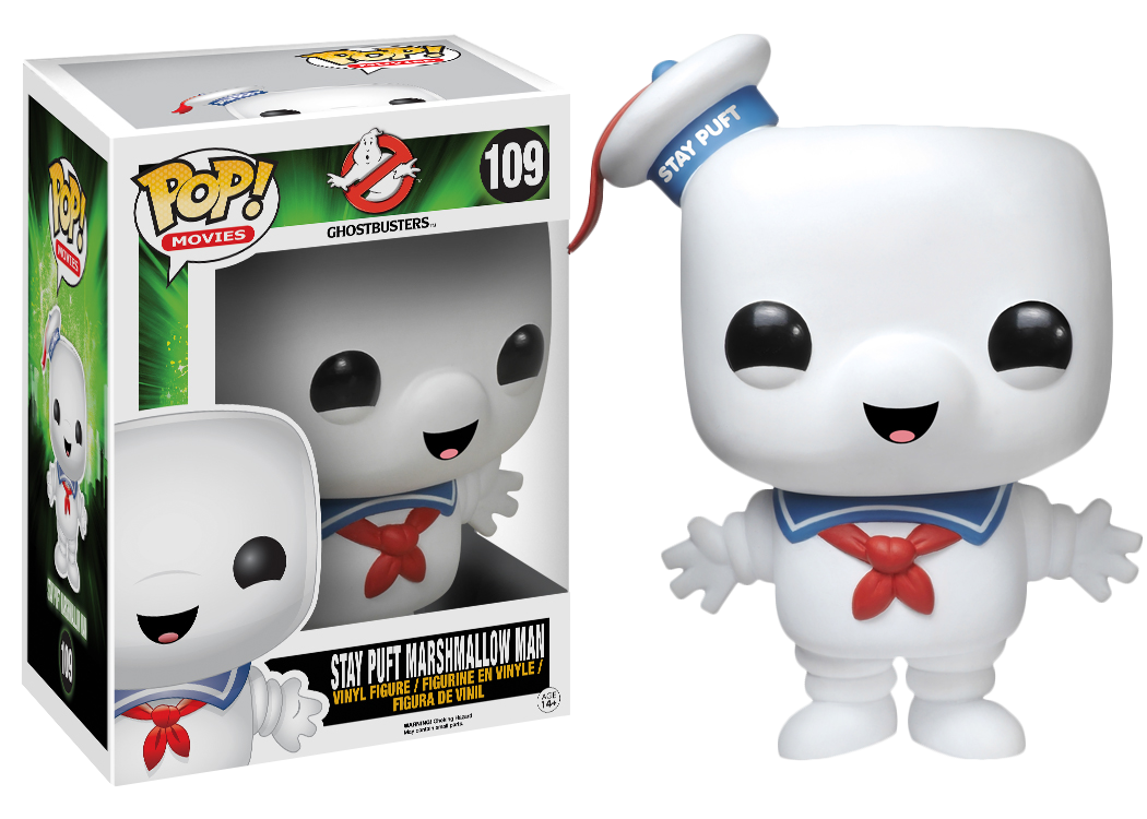 Ghostbusters Stay Puft Marshmallow Man Pop Vinyl