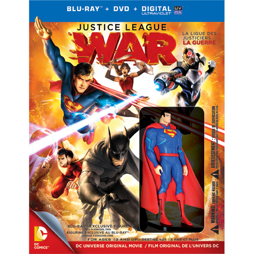 Justice League War Best Buy Canada Exclusive Superman 1