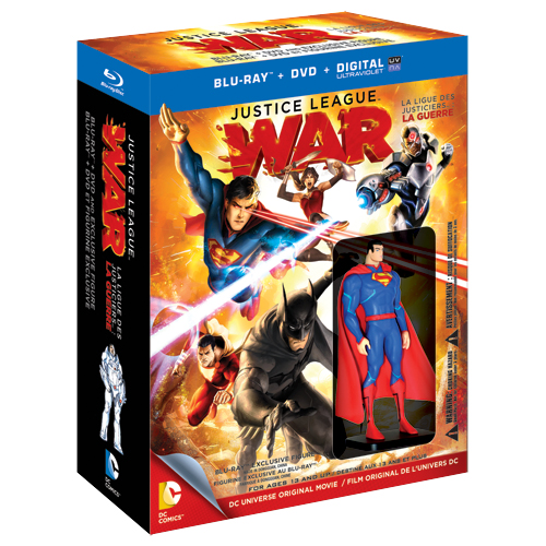 Justice League War Best Buy Canada Exclusive Superman 2