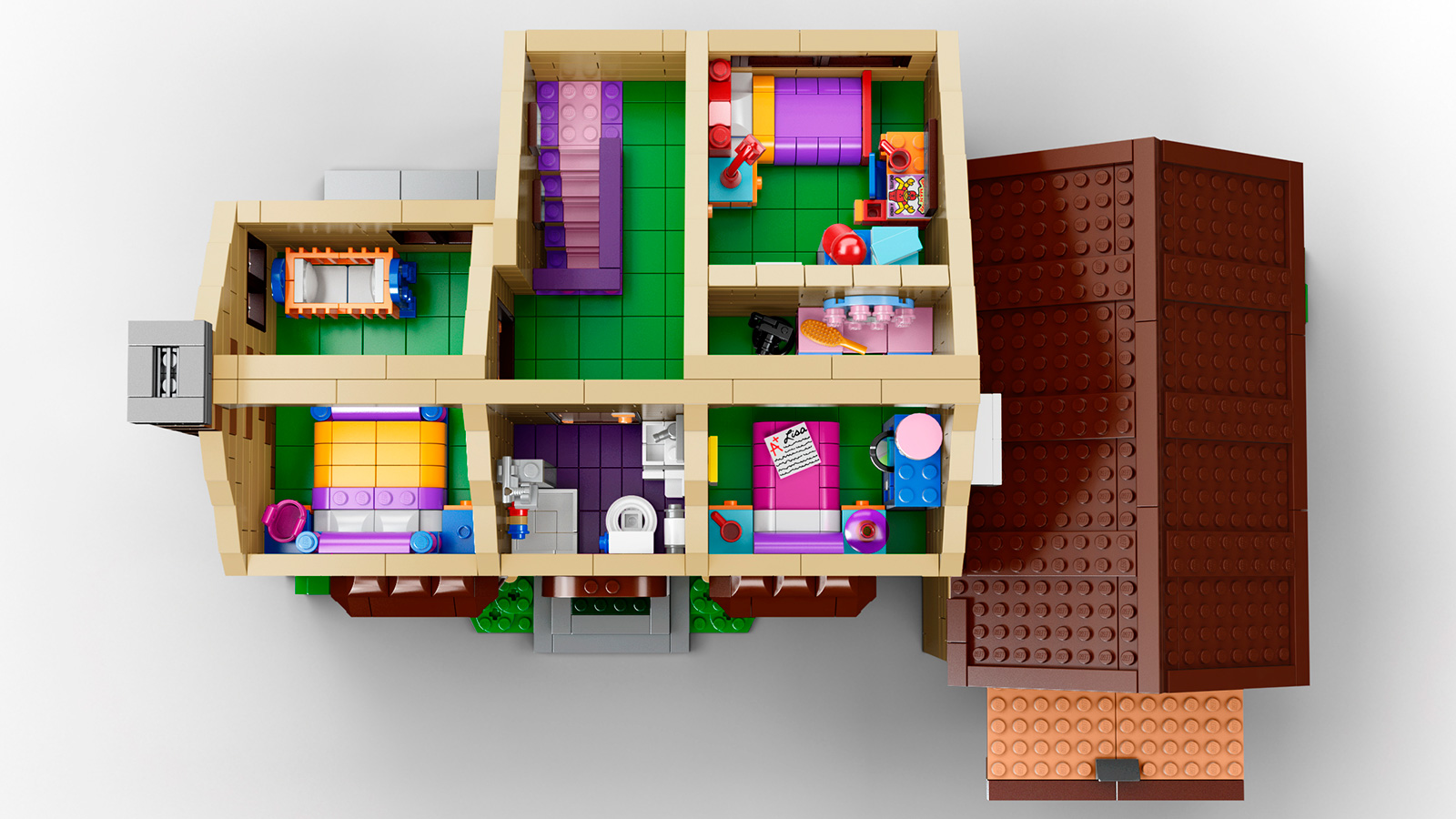 Lego Simpsons House 2 Pictures to pin on Pinterest
