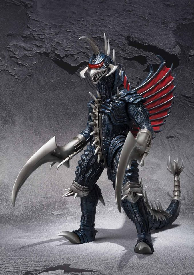 Tamashii Nations Releasing S.H. MonsterArts Gigan 2004 In ...