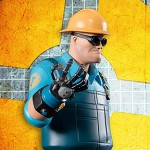 Team Fortress 2 BLU Engineer Statue 010