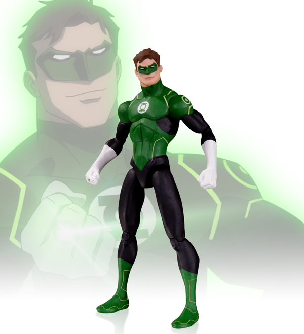 dc collectibles on designing figures for animated justice league the toyark news