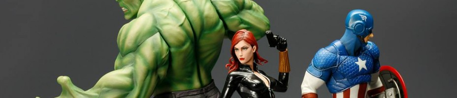 Kotobukiya Marvel Now Statues 5