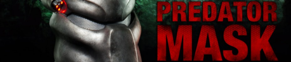 Predator Mask Replica Preview