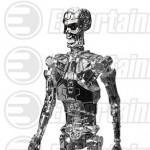 ReAction Terminator T 800 Endoskeleton Chrome