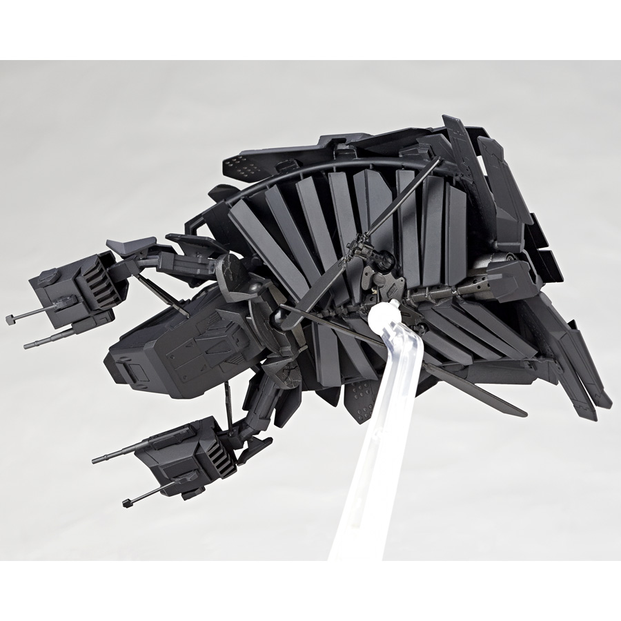 Revoltech Dark Knight Rises The Bat Official Images