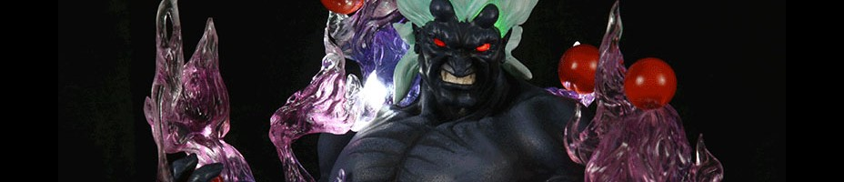 SOTA Street Fighter IV Oni Statue 2