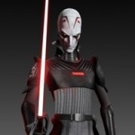Star Wars Rebels Inquisitor Maquette