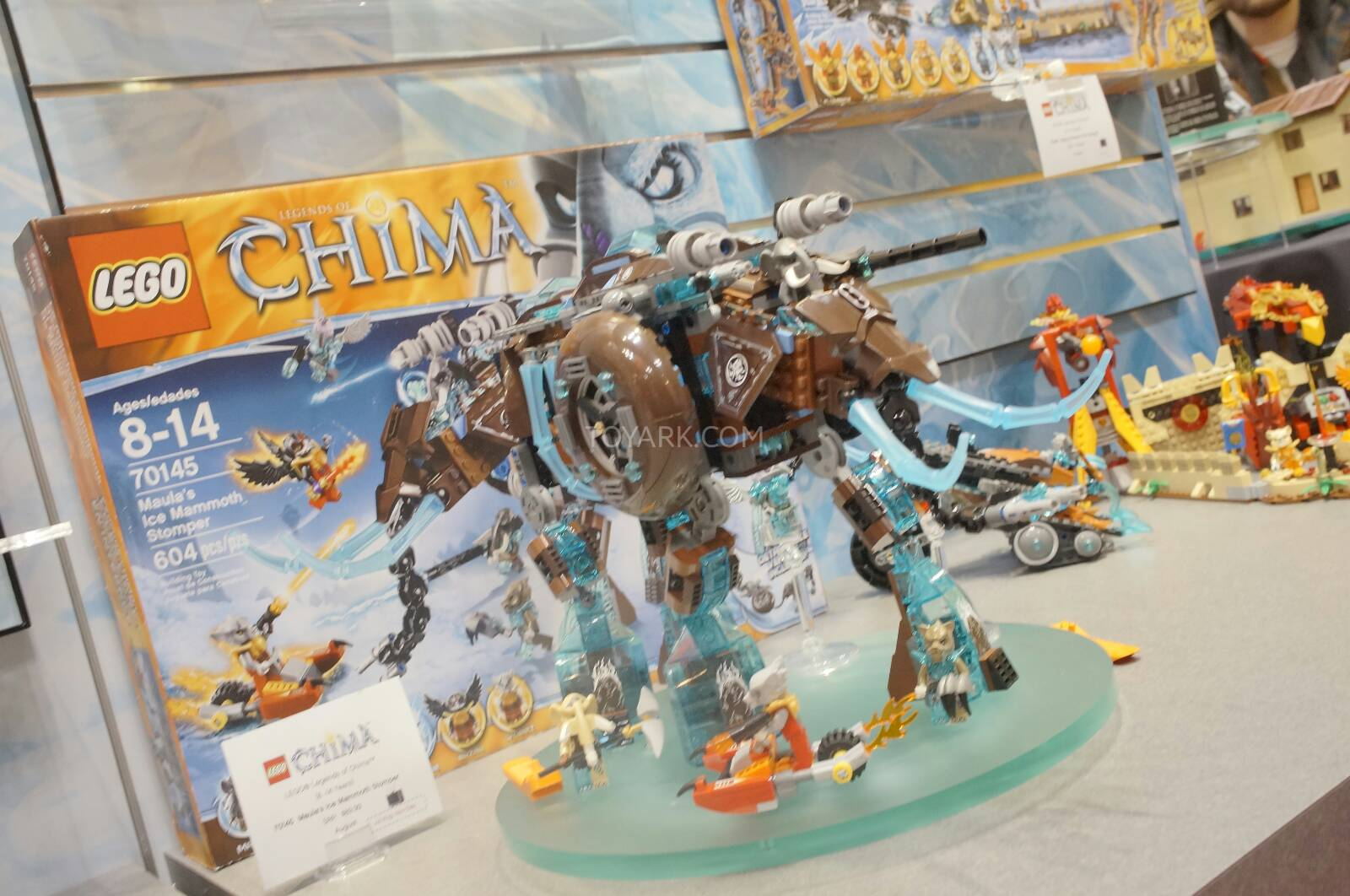 LEGO Legends of Chima Sets at the 2014 New York Toy Fair