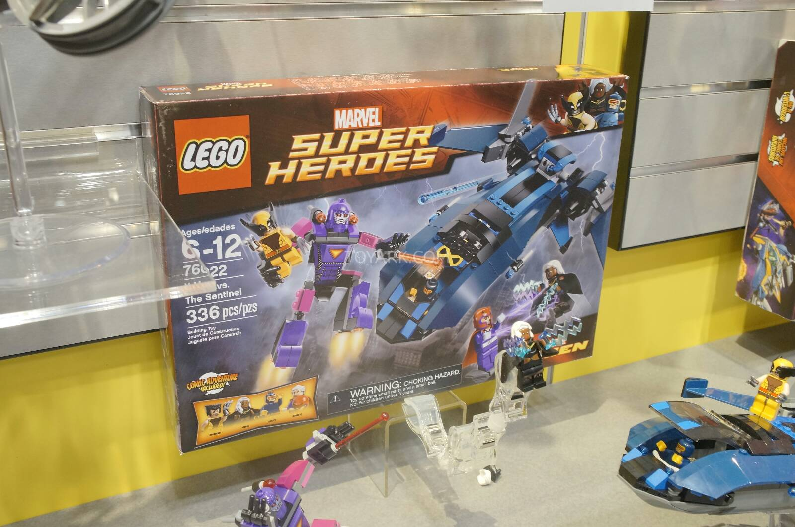 Lego Marvel Super Heroes Sets At 2014 New York Toy Fair