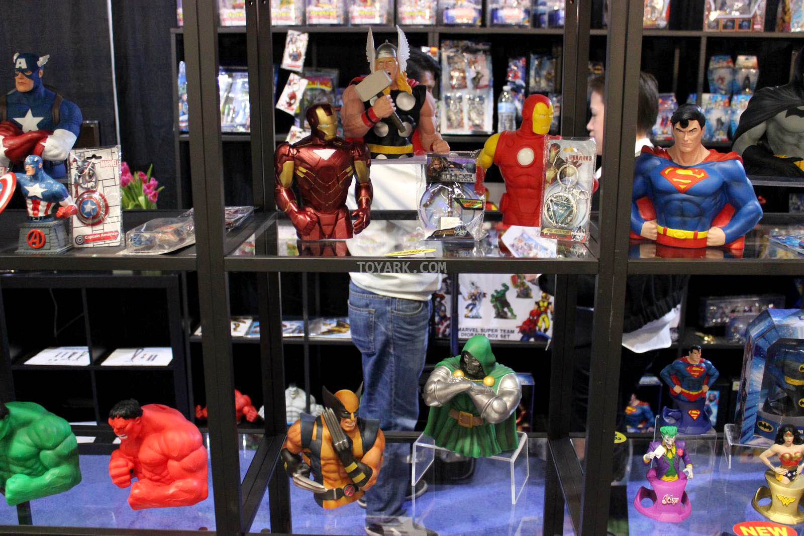 Toy Fair 2014 - Monogram - DC and Marvel Merchandise - The Toyark