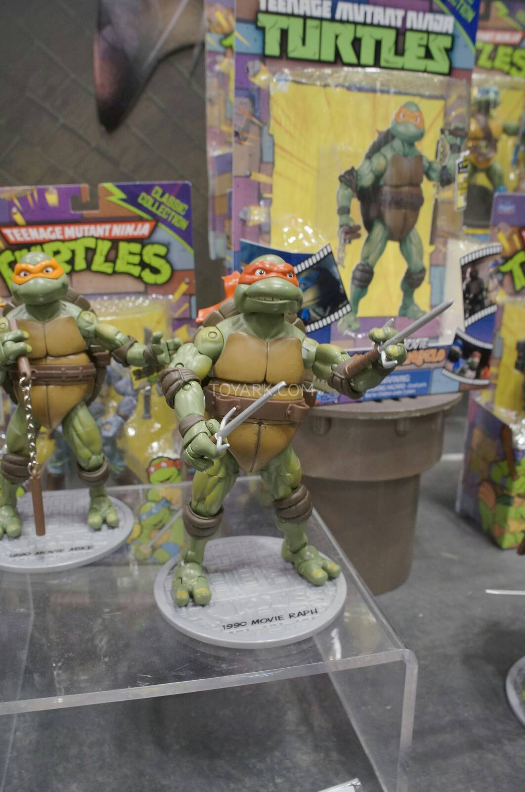 Toy Fair 2014 - Playmates Teenage Mutant Ninja Turtles Classics Toys