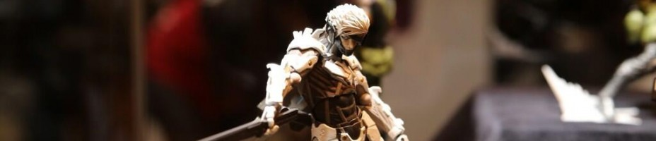 WF 2014 Revoltech Metal Gear Rising Raiden 1