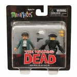 Walking Dead Series 5 Specialty Maggie Greene and Riot Gear Glenn