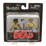 Walking Dead Series 5 Specialty Survivor Morgan and Geek Zombie