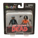 Walking Dead Series 5 Specialty Tyreese and Prison Michonne