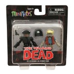 Walking Dead Series 5 TRU Riot Gear Michonne and Hitchhiker Zombie