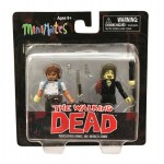 Walking Dead Series 5 TRU Traveler Rick Grimes and Business Zombie 1