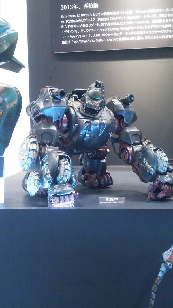 Wonder Festivel Zoids Iron Kong ThreeZero 1