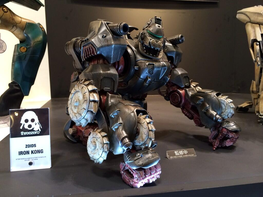 Wonder Festivel Zoids Iron Kong ThreeZero 2