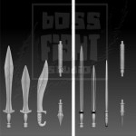 Boss Fight Weapons Assortment