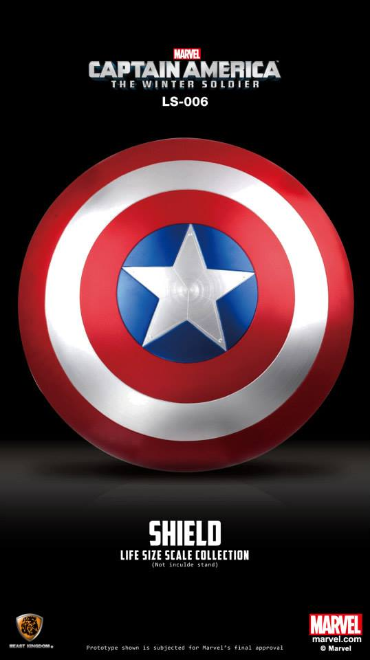Captain America Life Size Shield Replica 1