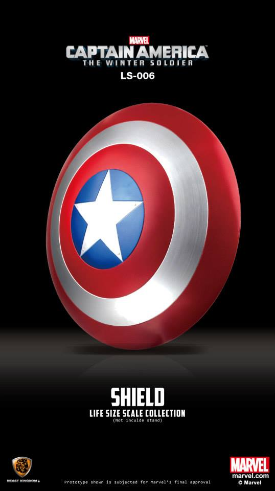 Captain America Life Size Shield Replica 2