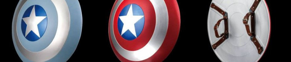 Captain America Life Size Shield Replica 4