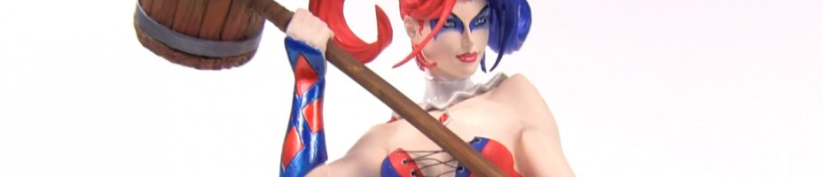 DC Collectibles Jim Lee Harley Quinn Bust