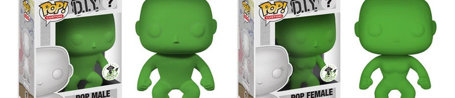 DIY Pop Vinyl Figures Emerald City Comicon Exclusives