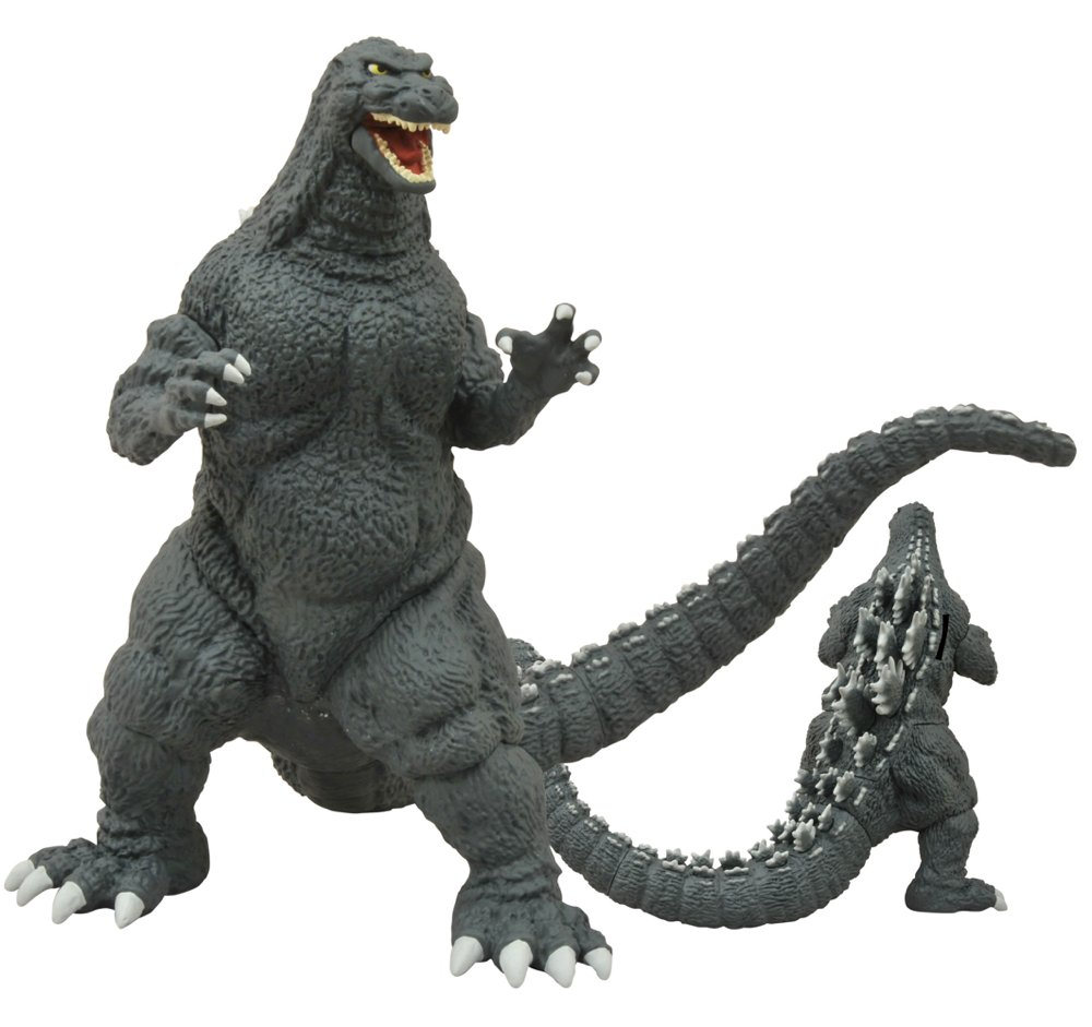 Diamond Select Toys Releases Godzilla 1989 and Stay Puft ...