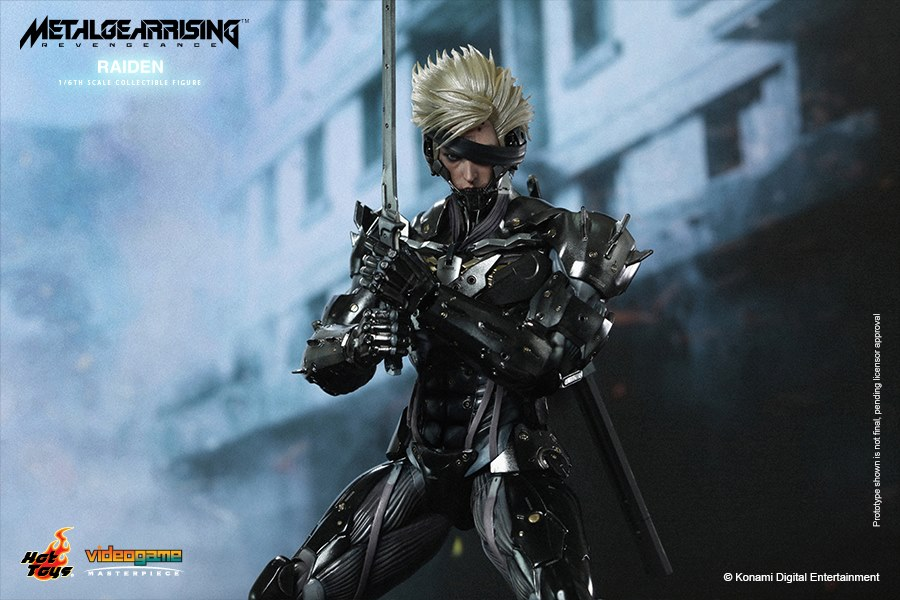 Hot Toys Metal Gear Rising Revengeance Raiden 001