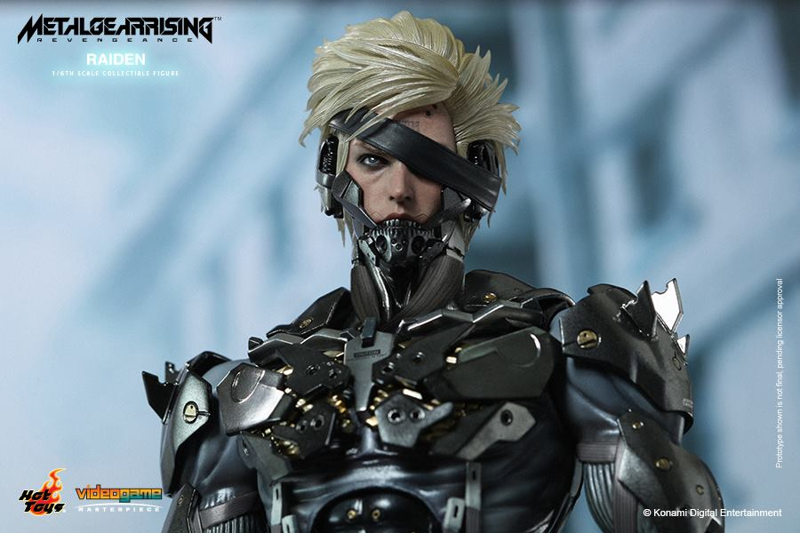 Hot Toys Metal Gear Rising Revengeance Raiden 010