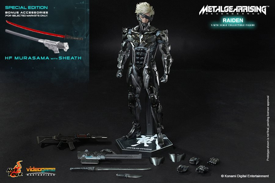 Hot Toys Metal Gear Rising Revengeance Raiden 014