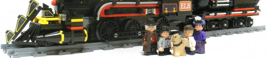 LEGO Back To The Future 3 Jules Verne Train Time Machine 001