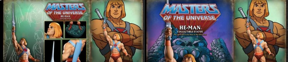 MOTU He Man Statue Packaging