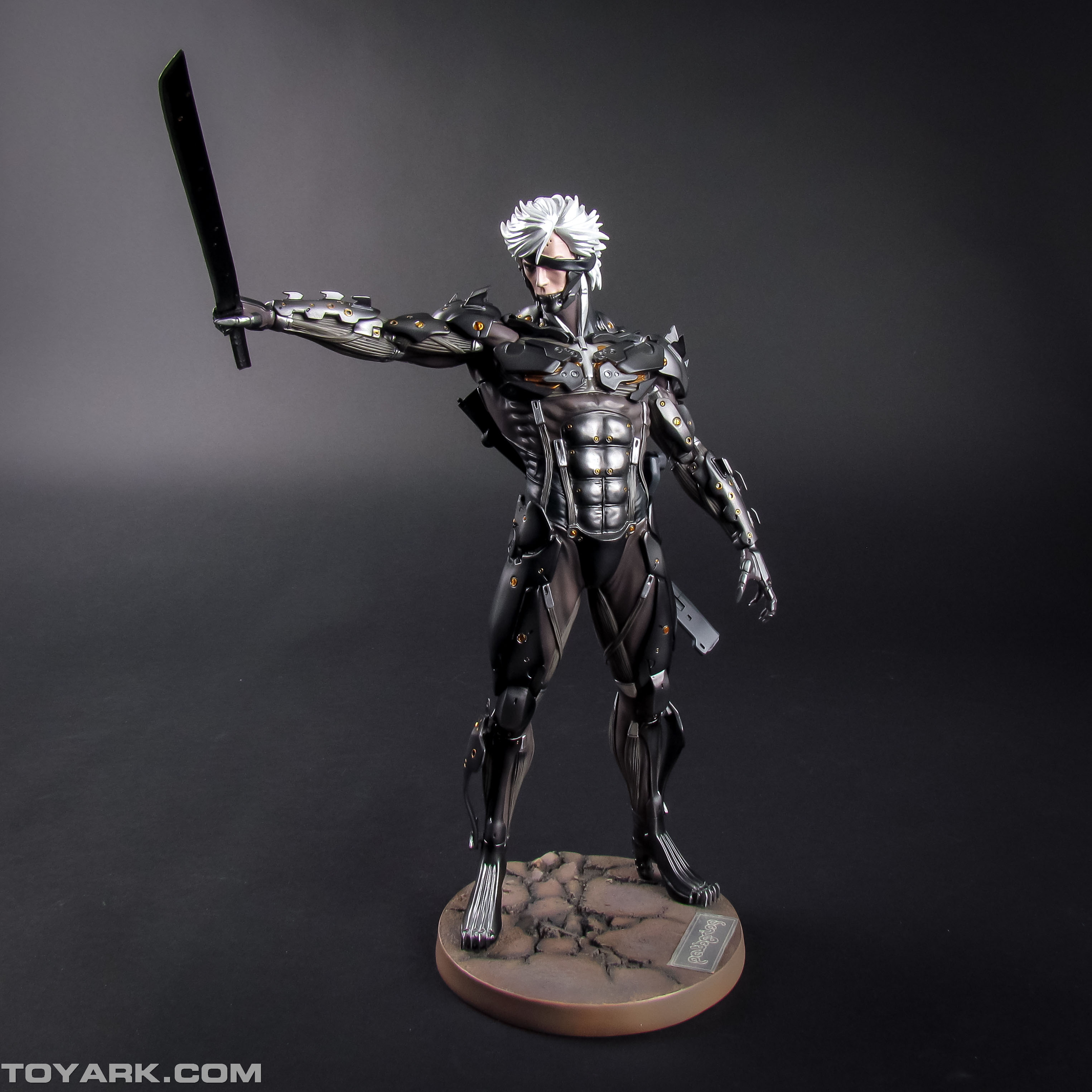 Metal Gear Rising Raiden Model Kit 004