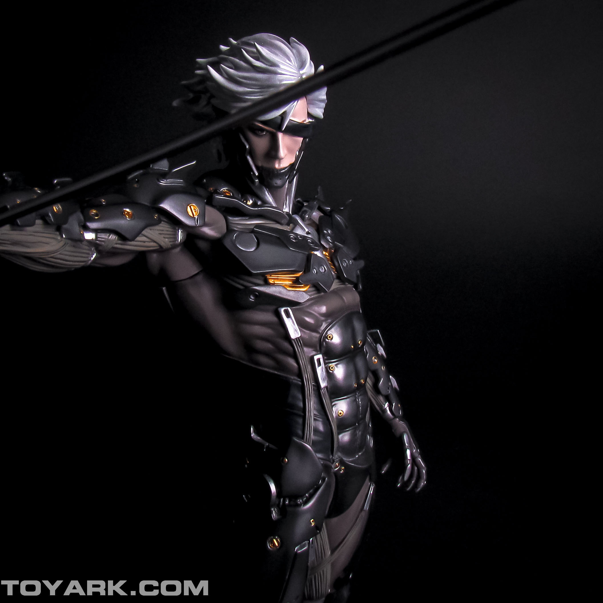 Metal Gear Rising Raiden Model Kit 026