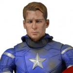 NECA Avengers Battle Damaged Captain America