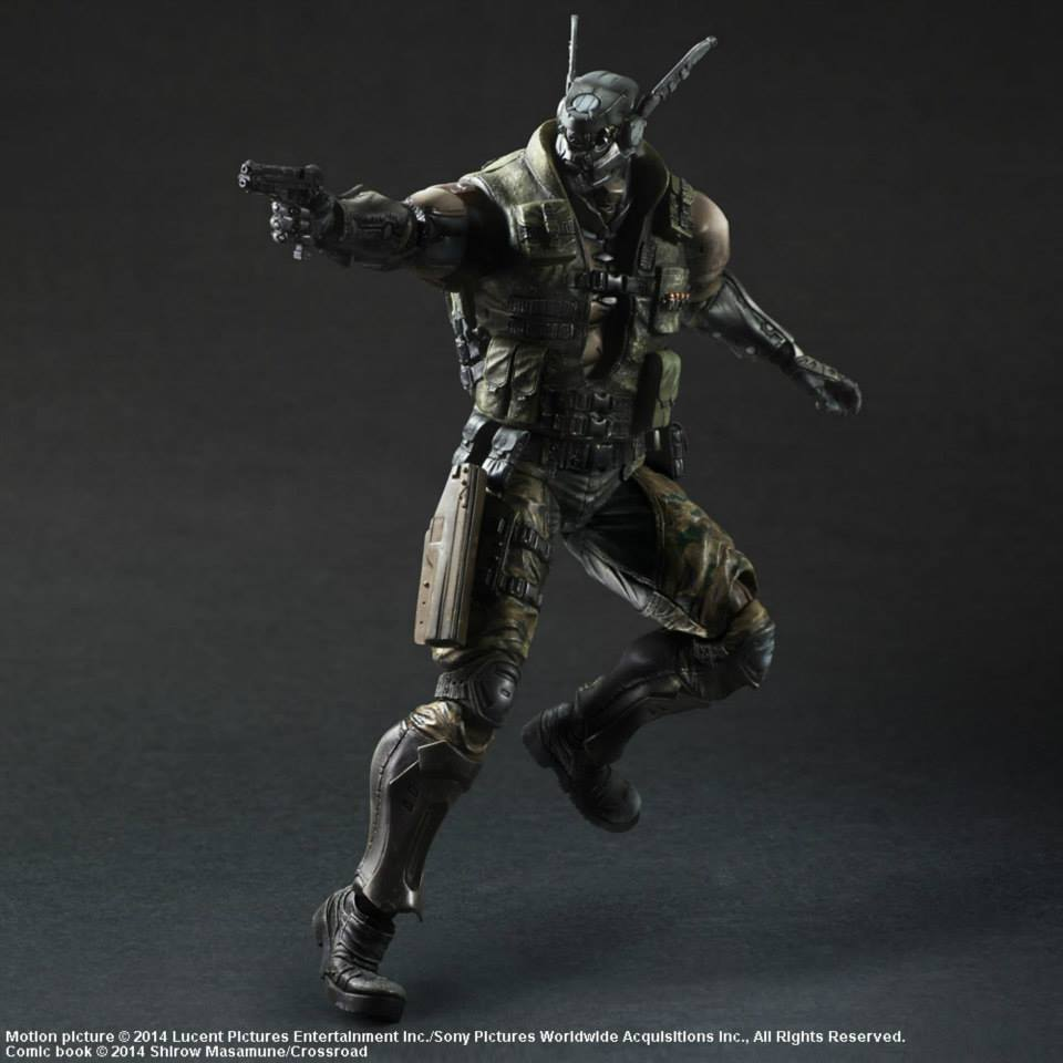 REVIEW: REVIEW: Hot Toys Appleseed Alpha - BRIAREOS HECATONCHIRES