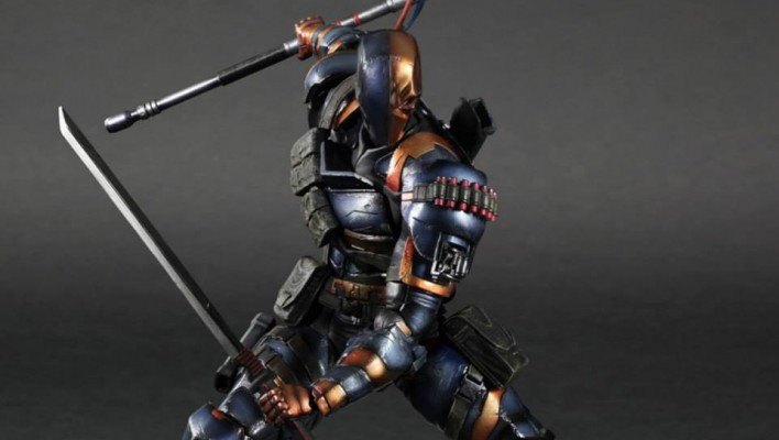 Batman Arkham Origins Play Arts Kai Batman and Deathstroke