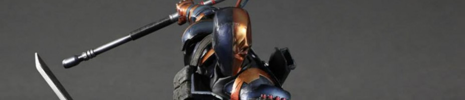 Play Arts Kai Arkham Origins Deathstroke 1