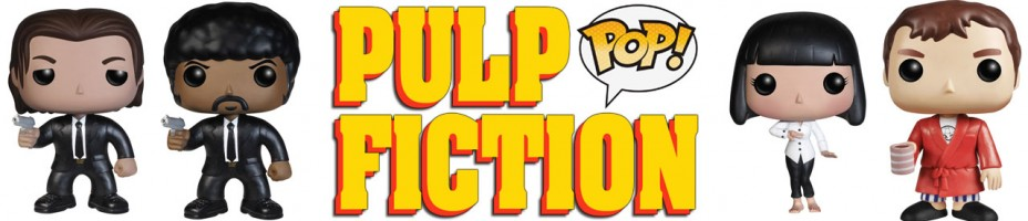 Pulp Fiction Pop Banner