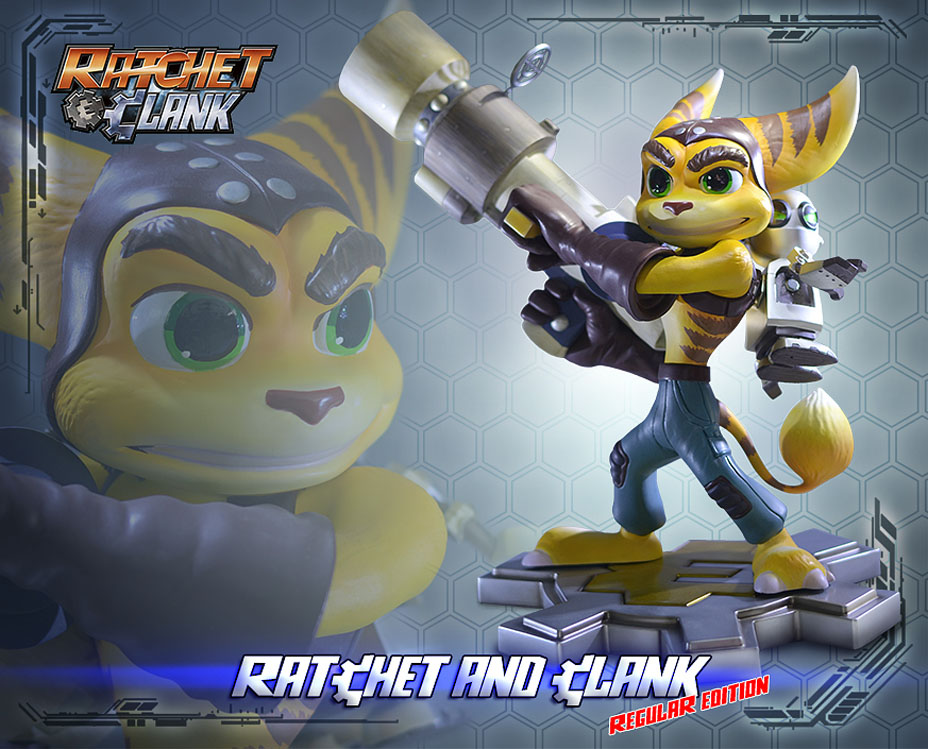 Ratchet And Clank Statues Toy Discussion At Toyark Com